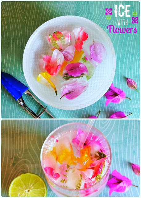 Happy Hour – Hielitos con flores