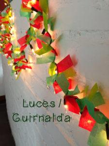 #iMadeThis -Luces de navidad / Guirnalda-