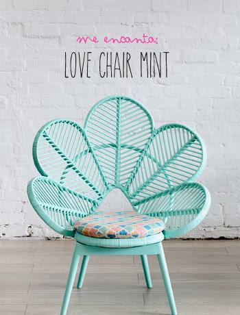 ¡Me Encanta! Love Chair Mint