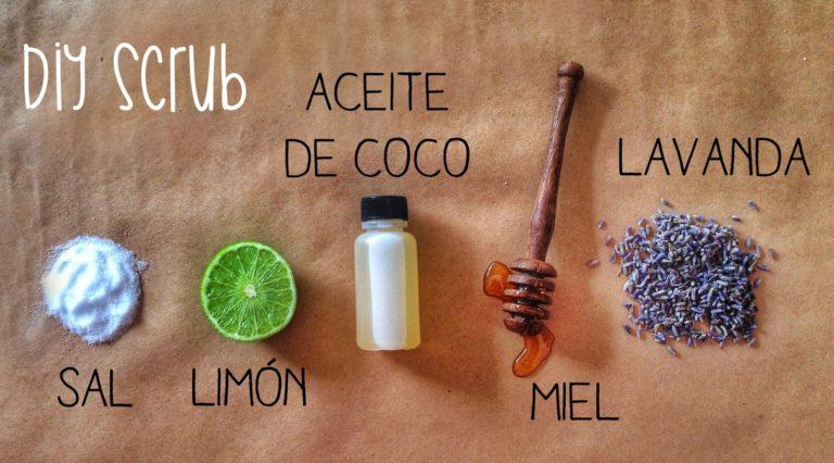 #iMadeThis -Coconut Lavander Scrub-