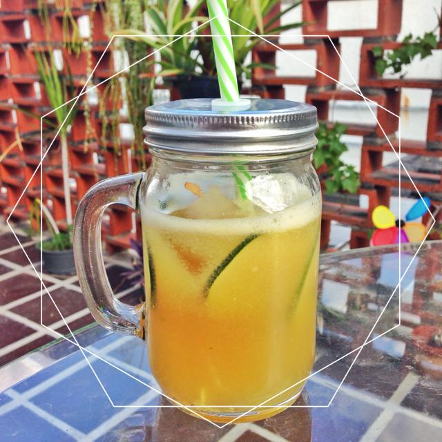 Limonada de Menta y Pepino