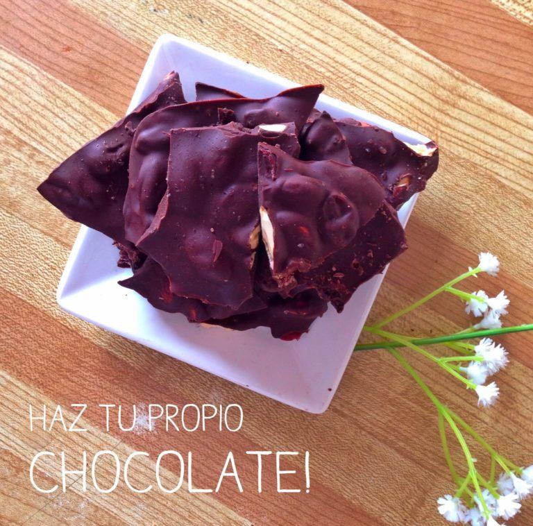 Haz tu propio Chocolate!
