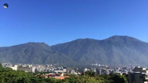 Caracas azul. Miami gris