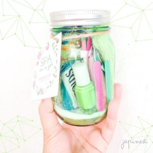 #iMadeThis -Spa in a jar-