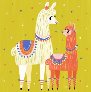 Fiesta temática de Llamas