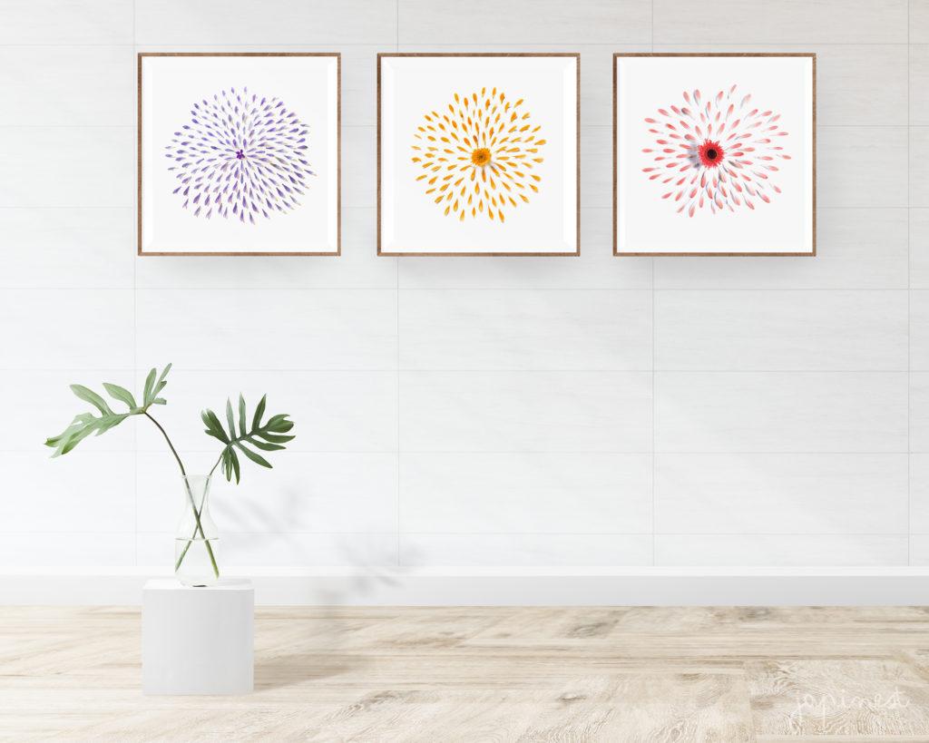 cuadros minimalistas abstractos